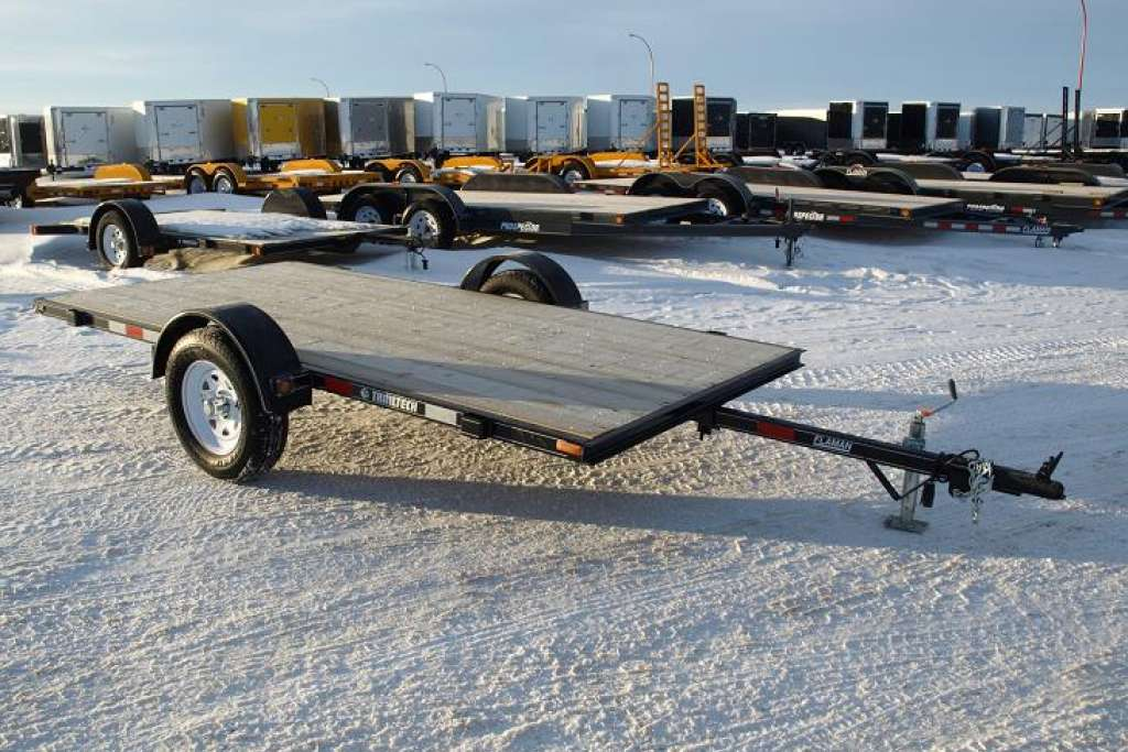 Trailtech Flat Deck Single Axle Tilt Trailer